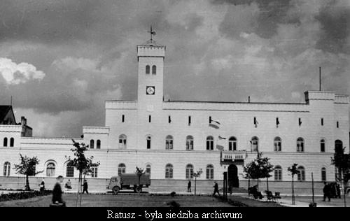 Ratusz - była siedziba archiwum