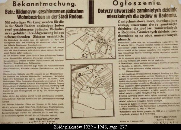 Zbiór plakatów 1939 - 1945, sygn. 277